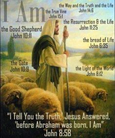 Jesus---I AM
