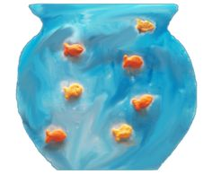 did it  Fish Bowl Preschool Art Project