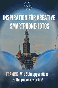 """In meiner Reihe """"Tipps für kreative Fotos"""" soll es heute um das Thema Framing gehen. Aber was ist das genau: Framing? Das Wort kommt aus dem Englischen und bedeutet """"Rahmen"""". Framing nennt sich in der Fotografie die Kunst, einem Motiv einen Rahmen durch Elemente in der Umgebung zu verleihen. Wie das genau funktioniert, und welche tollen Effekte Du mit diesem """"Trick"""" erzielen kannst, zeige ich Dir hier! Vivian Maier, Workshop, Smartphone, Inspiration, Instagram, Movie Posters, Hamburg, Good Photos, Photo Illustration"""