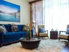 Design Trend: Decorating With Blue | Color Palette and Schemes for Rooms in Your Home | HGTV