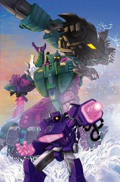 Shockwave and pirhanacon