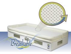 Secure Beginnings Mattress: Imagine your baby being able to BREATHE NORMALLY right through their mattress. http://www.securebeginnings.com/