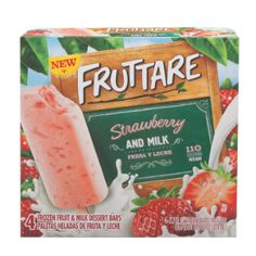 Fruttare Strawberry & Milk Bar