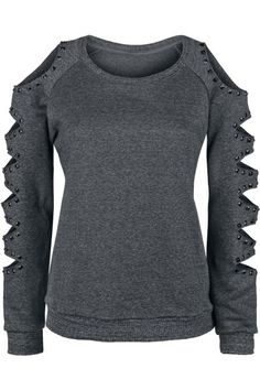 Studded Sweater - Black Premium by EMP