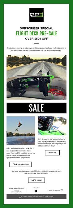 RP3 Deck Sale