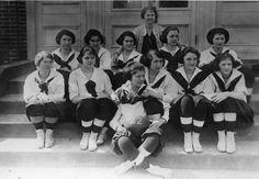1922.  Milford High School Girls basketball team.  9015-009-001 #44.  Delaware Public Archives.  www.archives.delaware.gov