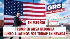 EN ESPAÑOL El presidente Trump en mesa redonda con Latinos for Trump en ... Nevada, Las Vegas, Trump, Youtube, Country, Presidents, Mesa Redonda, Rural Area, Last Vegas