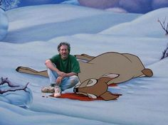 steven spielberg killed bambis mother ;)  #steven #spielberg #dead #bambi #hunting #killing #fake