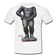 BIG MANNEKENPIS  · 小便小僧 Tャツ  T-shirt Homme · 撒尿小童 T恤