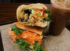 The Linsanity banh mi Best Sandwich, Salmon Burgers, 3 Months, Trek, Cravings, Queens, Sandwiches, Chicken, Eat