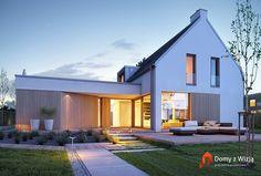 """wizualizacja ładnego domu wg projektu """"gotowego"""""""