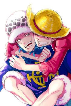 Trafalgar D. Water Law and Monkey D. Luffy One piece Favorite Character, Pics, Art, Anime, One Piece Images, Anime Characters, Fan Art, 0ne Piece, One Piece Luffy