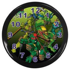 New Tmnt Turtles Wall Clock Room Decor Big Boy Bedrooms, Kids Bedroom, Bathroom Kids, Bathrooms, Ninja Turtle Room, Baby 2014, Tmnt Turtles, Tyler Joseph, Boy Room