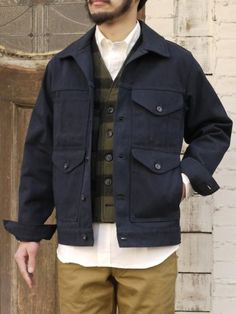 FILSON SHORT CRUISER JACKETNEW COLOR NAVY! : TODAY IS THE DAY
