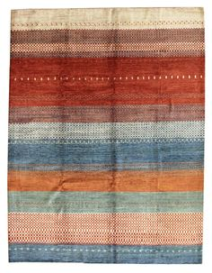 Recent Arrivals Gallery: Gabbeh Design Rug, Hand-knotted in Afghanistan; size: 9 feet 2 inch(es) x 11 feet 10 inch(es)