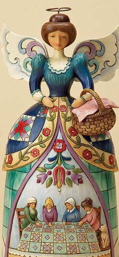 Quilting~holiday figurines