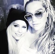 Kesha and Avril Lavigne