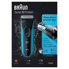 Braun 190s 1 Cordless Shaver Rechargeable Washable Men