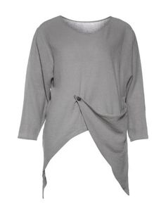 Cotton-linen shirt in Grey designed by Isolde Roth to find in Category Shirts at navabi.de