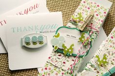 Gorgeous gift wrap! by Danielle Flanders