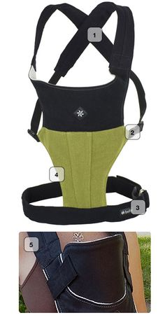 Belle baby carriers- Made in the USA