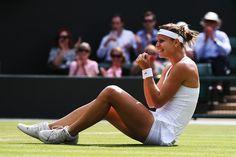 Lucie Safarova in Wimbledon: Day 8