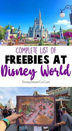 Free Things at Disney World- List of 'Must Haves' - Disney Dream Co - Disney World - Who doesn't like free things? Disney World is expensive enough, so here is a list of free things - Disney On A Budget, Disney World Vacation Planning, Walt Disney World Vacations, Disney Planning, Disney World Resorts, Disney Parks, Disney World Rides List, Disney Souvenirs, Disney World Florida