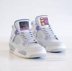 Air Jordan 4 Custom SNES NBA Jam Sneakers