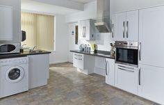 Inclusive kitchen at Kenmore Leonard Cheshire Care Home