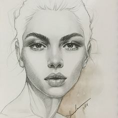 Secrets Of Drawing Realistic Pencil Portraits - Pencil Portrait Mastery - H a m d a A l m a n n a i ♡ Hamda Al Mehairi. Pencil Art, Pencil Drawings, Art Drawings, Drawing Portraits, Pencil Portrait Drawing, Horse Drawings, Face Sketch, Drawing Sketches, Sketching