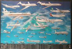 Flota histórica de Mexicana de Aviación hasta los 90s