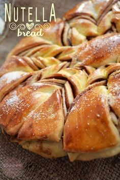 Nutella bread (cozonac cu nutella) - RETETE DUKAN
