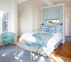 lake house bedroom by Anne Hepfer Designs