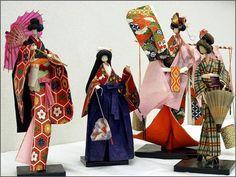 Omamori - Japanese Amulets: Anesama dolls