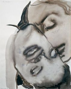 Marlene Dumas - ink drawings