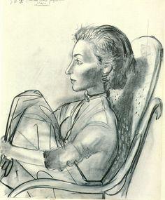Untitled, 1954  Pablo Picasso