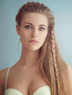 Strange Side French Braids French Braids And Half Up On Pinterest Hairstyle Inspiration Daily Dogsangcom