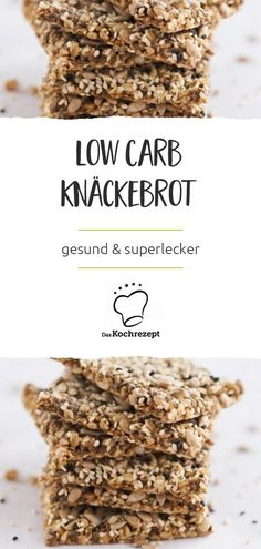 Low Carb Knäckebrot - New Ideas Soup Appetizers, Healthy Appetizers, Healthy Eating Tips, Healthy Nutrition, Dinner Recipe Using Hamburger, Easy Weekday Meals, Vegetable Drinks, Lose Weight Naturally, Low Carb Diet