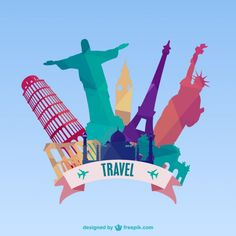 Ideas travel icon vector graphics for 2019 Travel Illustration, Flat Illustration, Travel Icon, Travel Usa, Packing Tips For Travel, Travel Essentials, Travel Themes, Travel Posters, Monuments