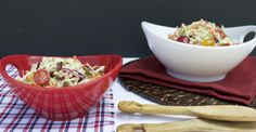 Paleo BLT Coleslaw. Perfect for any summer BBQ!