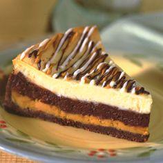 Triple Chip Cheesecake