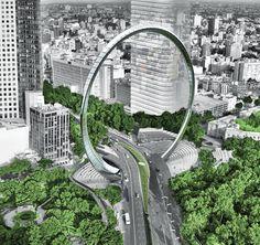 'bicentennial moebius ring', mexico city, mexico, 2009