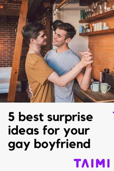 """Bored of constantly """"surprising"""" your boyfriend with a dinner out? Check out our 5 best surprise ideas for your gay boyfriend and thank us later 😉👨❤️👨🎁 Surprise Boyfriend, Boyfriend Goals, Surprise Ideas, Love Dating, Relationship Goals, Relationships, Cute Gay Couples, Lgbt, Hot Guys"""