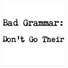 Grammar and Punctuation. Grammar Memes, Grammar And Punctuation, Teaching Grammar, Spelling And Grammar, Bad Grammar Humor, Teaching Reading, Teaching English, Writing Humor, Writing Tips