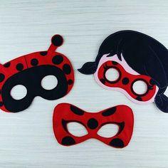 Cat Noir Mask Party Favor Dress Up Pretend Play Black