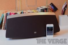 Best Speakers for iPhone: Altec Lansing inAir 5000 - You'd expect large sound from such a large speaker, and that's definitely what you get from the inAir 5000 — it was easily the loudest speaker I tested. Sound potency doesn't necessarily equal sound quality, but I was generally a fan of the inAir 5000's output. Vocals are bright, airy, and clear, and there's just the right amount of punch in the low end. | #Speakers #iPhone #Accessories #AltecLansing #Air5000 #Gadgets |