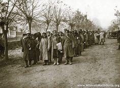 Bulgarian prisoners in Monastir (Bitola), 19-23 November 1916