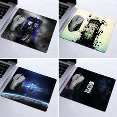 2016 Tapis De Souris Computer Office Gaming Mousrmat Doctor Who Design Anti-slip Mousepad Mouse Pad Mat Best Durable Mousemats