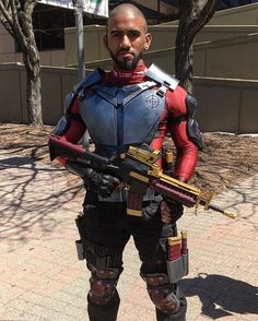 I am the light, the way. Version 1 of my Deadshot cosplay is complete…
