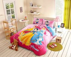 Three Princess Comforter Set Pink Comforter Sets
